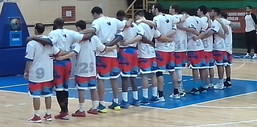 Lot jucatori Steaua baschet 2013-2014