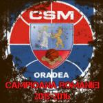 CSM U Oradea campioana 2016
